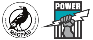 Port Adelaide Power Football Club Logo Evolution